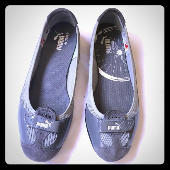 Puma Shoes - Puma women's Zandy Gray athletic flat shoes 🥿
